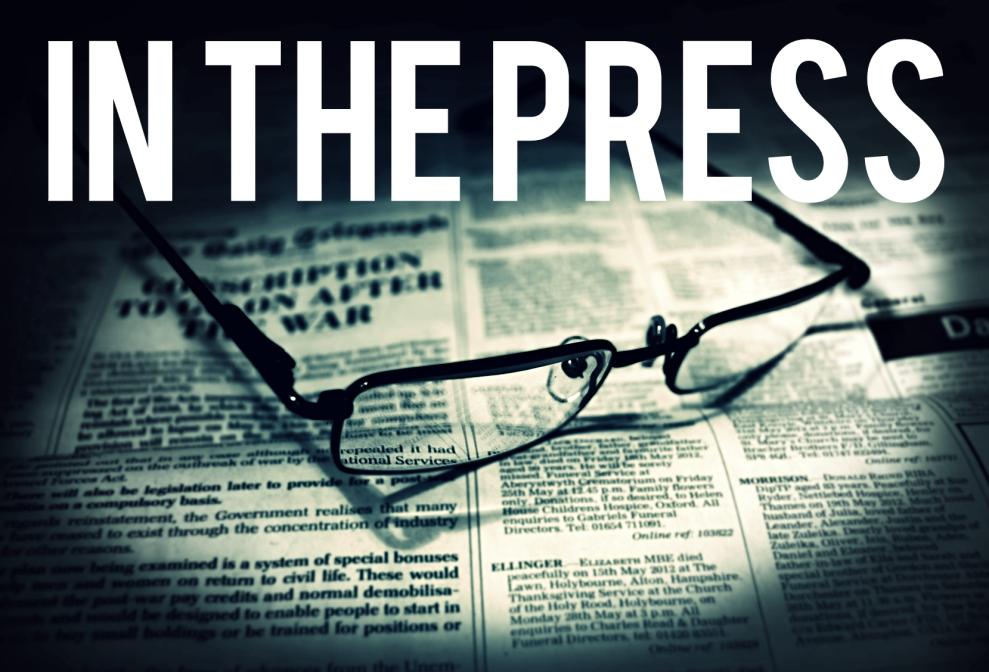 in the press
